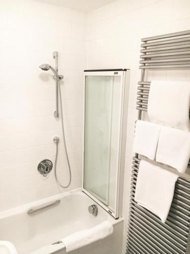 Badezimmer im Comfort Doppelzimmer